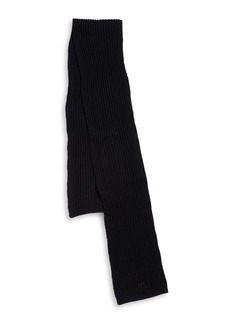John Varvatos Ribbed Merino Wool Scarf