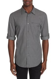 John Varvatos Roller Sleeve Sport Shirt