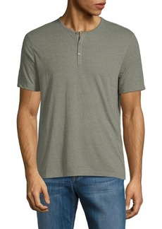 John Varvatos Short Sleeve Henley T-Shirt