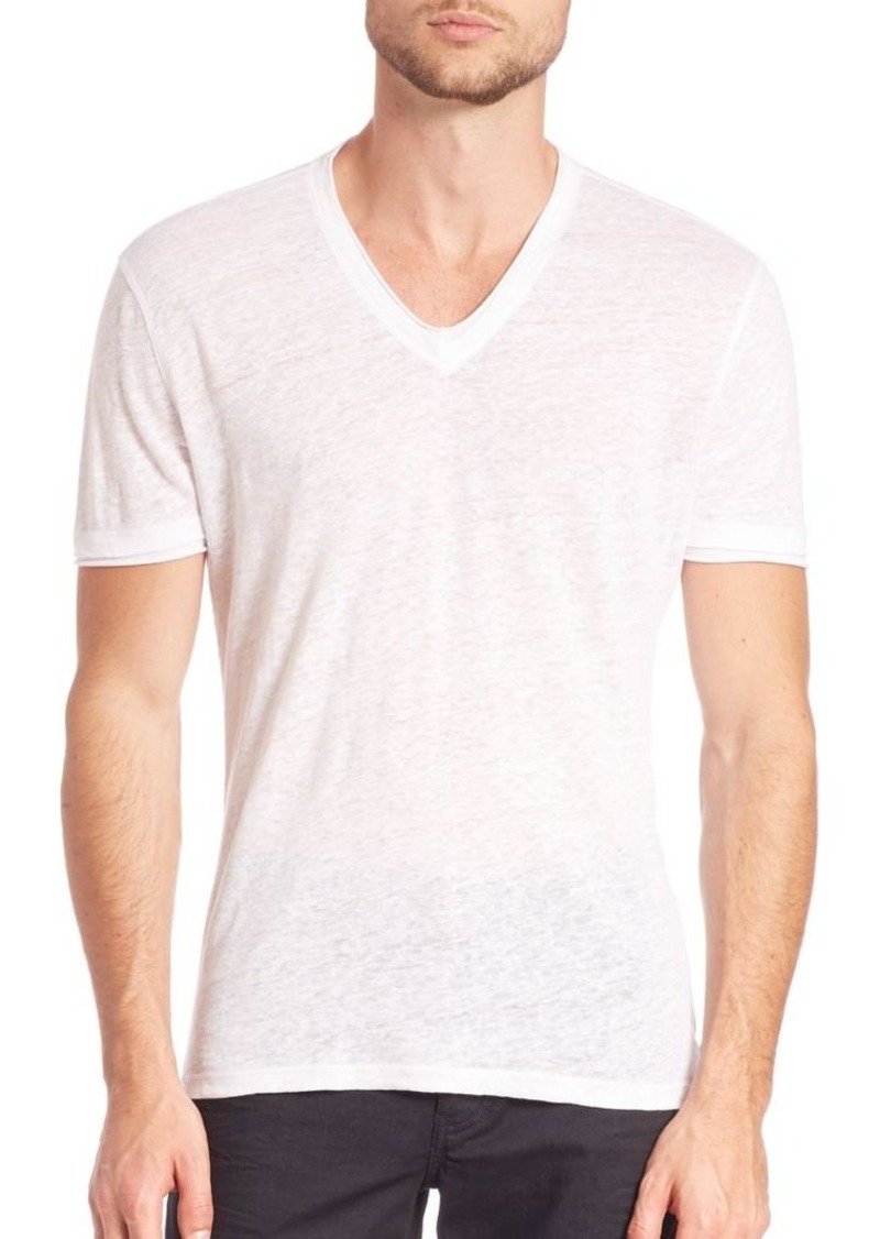 John Varvatos Short Sleeve Pima Cotton Tee