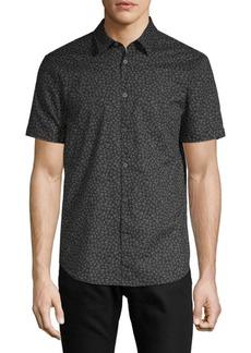 John Varvatos Short Sleeve Skull Shirt