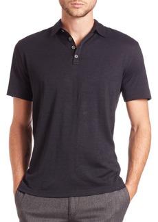 John Varvatos Silk & Cotton Polo