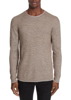 John Varvatos Silk Blend Crewneck Sweater