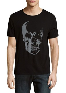 John Varvatos Skull Cotton Tee