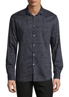 John Varvatos Slim-Fit Button-Down Shirt