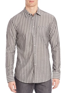 John Varvatos Slim-Fit Casual Button-Down Shirt