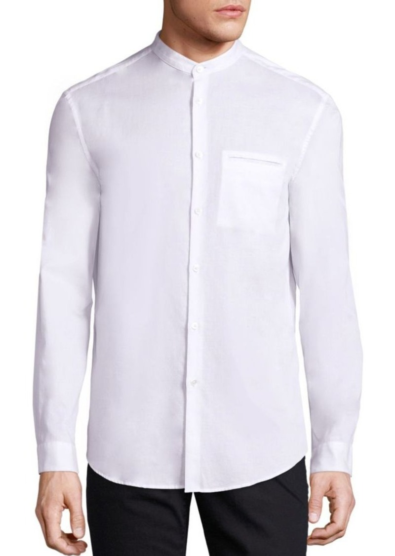 John Varvatos Slim Fit Cotton Shirt