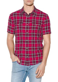John Varvatos Slim-Fit Flannel Shirt