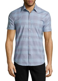 John Varvatos Star U.S.A. Slim-Fit Plaid Button-Down Shirt