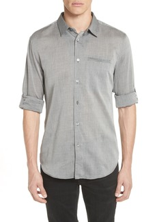John Varvatos Collection Slim Fit Roller Long Sleeve Shirt