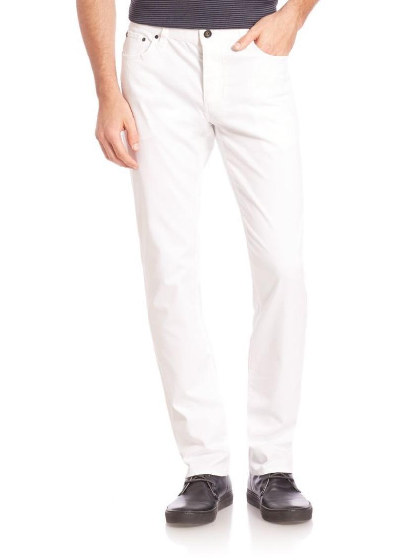John Varvatos Solid Slim Fit Jeans