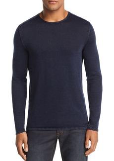 John Varvatos Star USA Acid-Wash Crewneck Sweater
