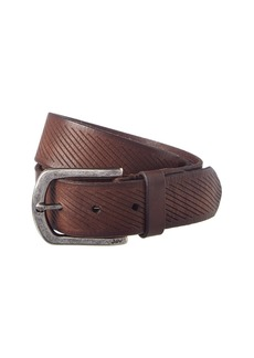 John Varvatos Star U.S.A. Adjustable Leather Belt