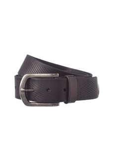 John Varvatos Star U.S.A. Adjustable Leather Belt