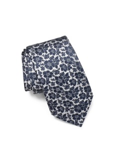 John Varvatos Star USA Allover Floral Classic Tie