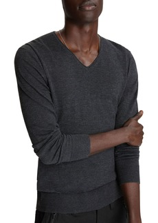 John Varvatos Star USA Arlington Melange Sweater