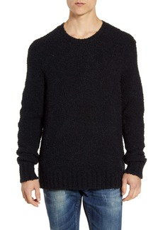 John Varvatos Star USA Athens Regular Fit Bouclé Sweater