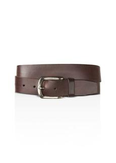 John Varvatos Star USA Basic Leather Belt