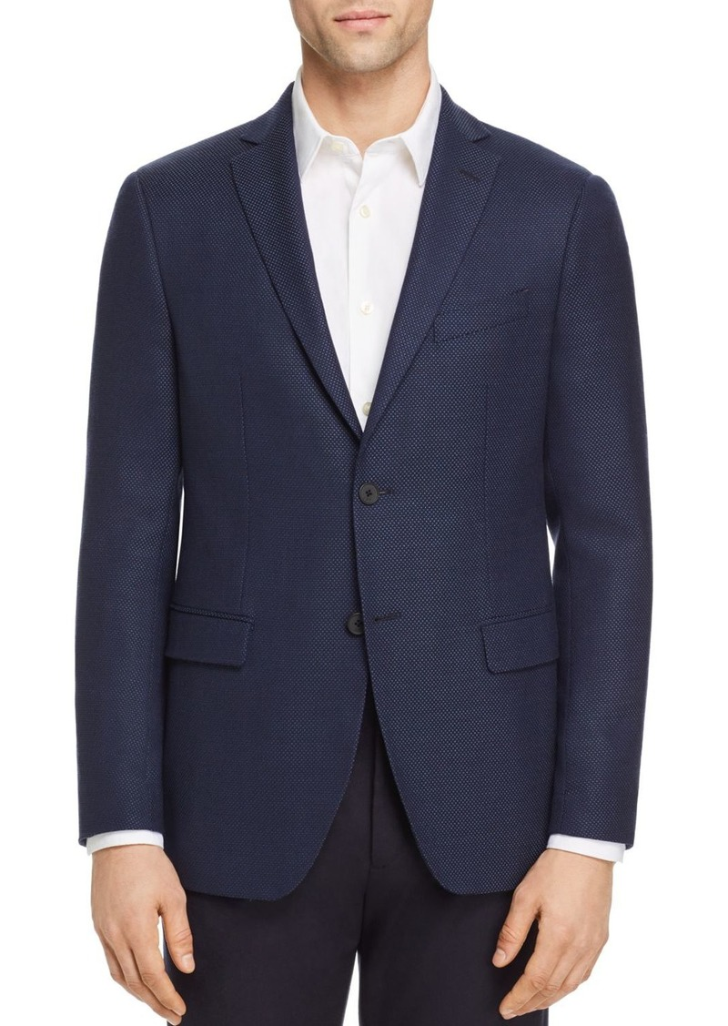 John Varvatos Star USA Basketweave Slim Fit Sport Coat