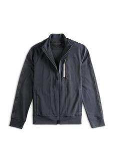 John Varvatos Star USA Bates Ponte Knit Regular Fit Track Jacket