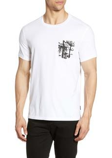John Varvatos Star USA Bayfront Print Pocket T-Shirt