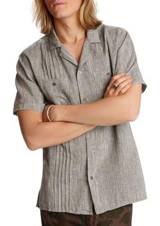 John Varvatos Star USA Benny Pintucked Easy Regular Fit Shirt
