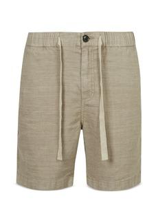John Varvatos Star USA Benson Linen Shorts