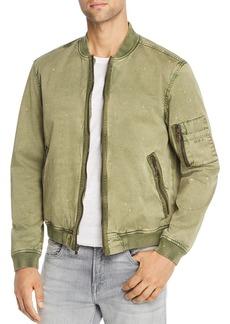John Varvatos Star USA Bleach-Splattered Bomber Jacket