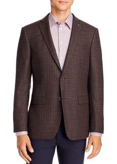 John Varvatos Star USA M�lange Birdseye Slim Fit Sport Coat