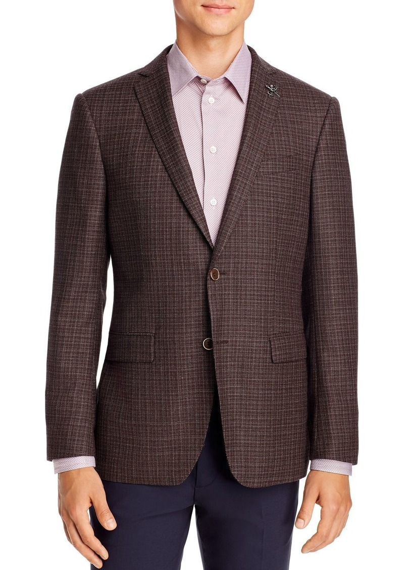 John Varvatos Star USA M�lange Birdseye Slim Fit Sport Coat