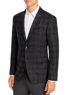 John Varvatos Star USA M�lange Plaid Slim Fit Sport Coat