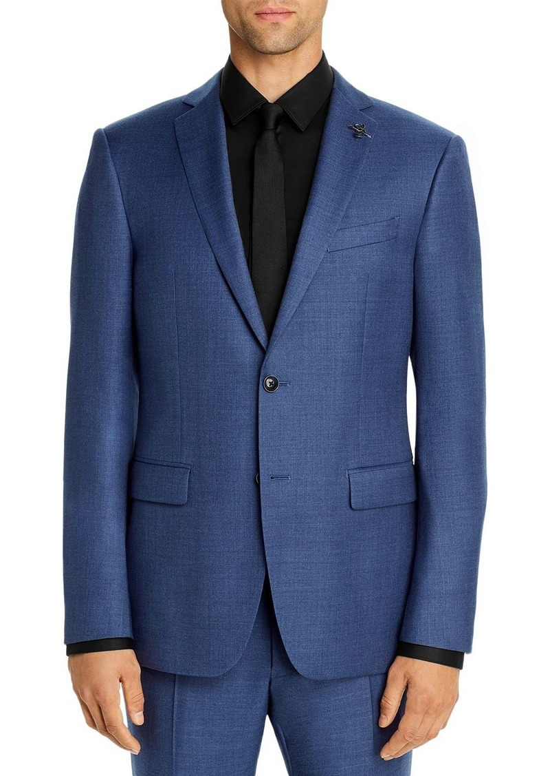 John Varvatos Star USA Bleecker Street M�lange Solid Slim Fit Suit Jacket
