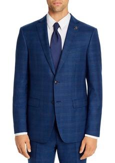 John Varvatos Star USA Bleecker Street Tonal Plaid Slim Fit Suit Jacket