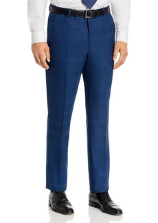 John Varvatos Star USA Street Tonal Plaid Slim Fit Suit Pants