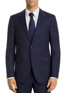 John Varvatos Star USA Bleecker Tonal-Plaid Slim Fit Suit Jacket
