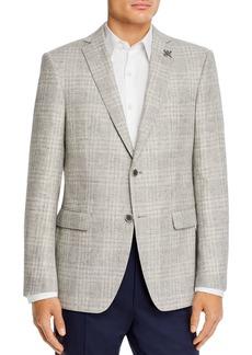 John Varvatos Star USA Bleeker Textured Tonal Plaid Slim Fit Sport Coat