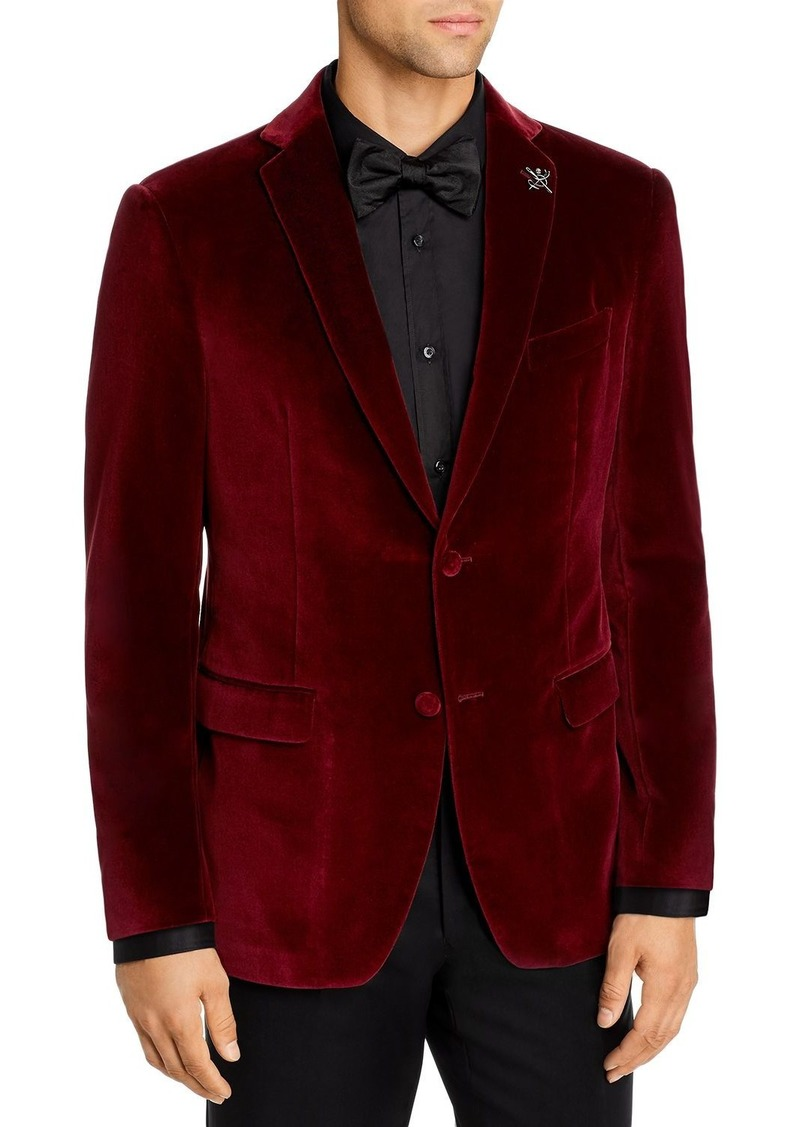 John Varvatos Star USA Bleeker Velvet Slim Fit Dinner Jacket