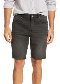 John Varvatos Star USA Bowery Slim Straight Jean Shorts (Black)