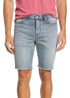 John Varvatos Star USA Bowery Slim Straight Jean Shorts (Dark Navy)