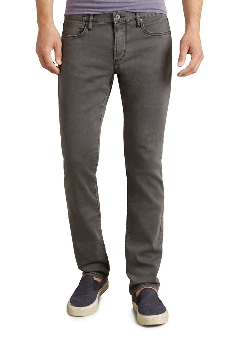 John Varvatos Star USA Bowery Straight Fit Jeans in Shark