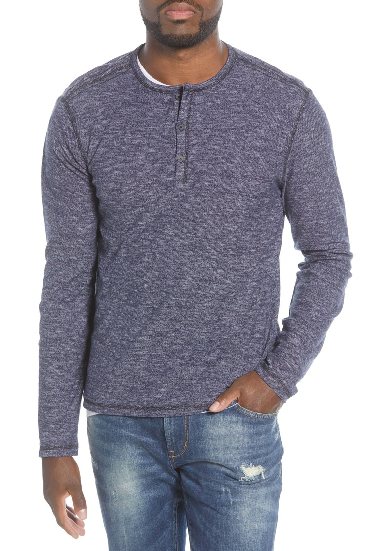 John Varvatos Star USA Bridgeport Slub Henley