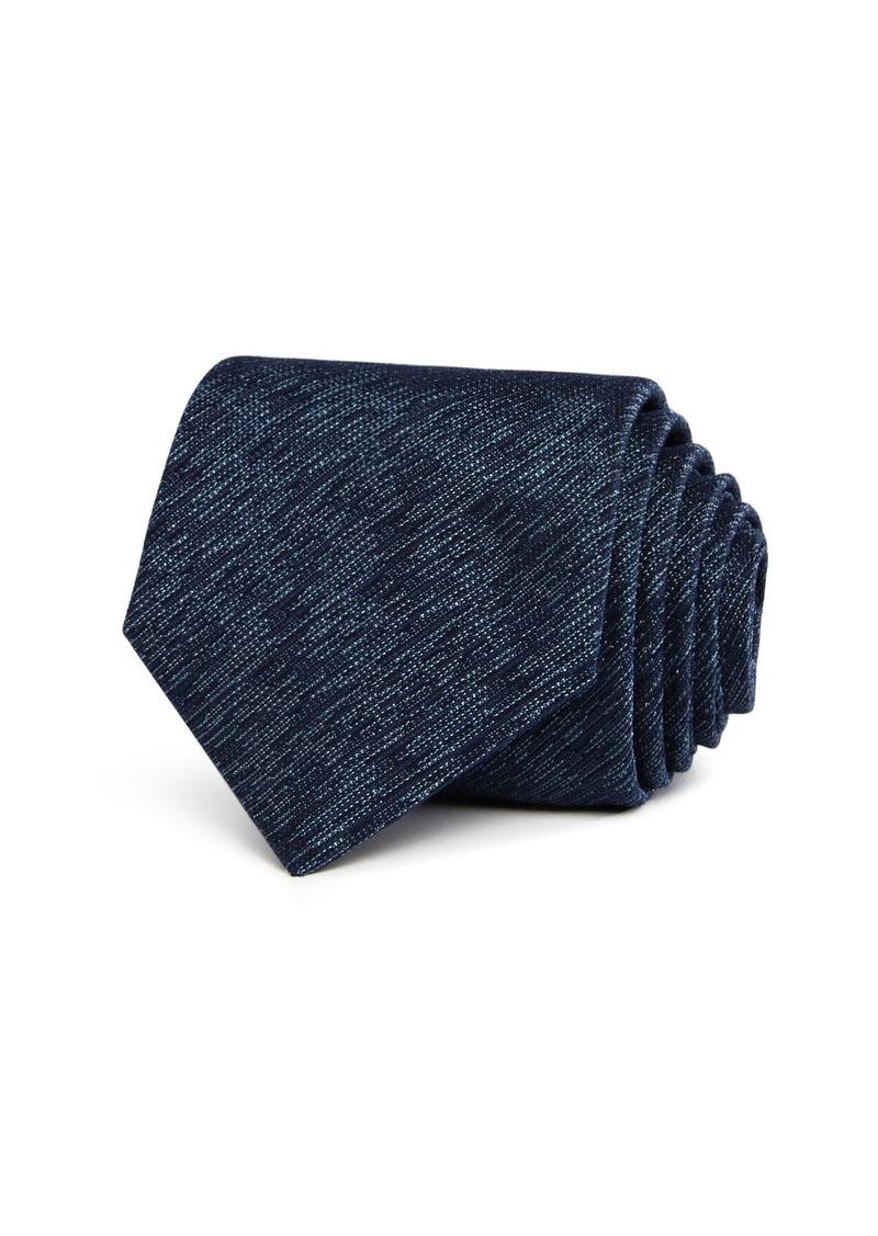John Varvatos Star USA Brushstroke Solid Classic Silk Tie