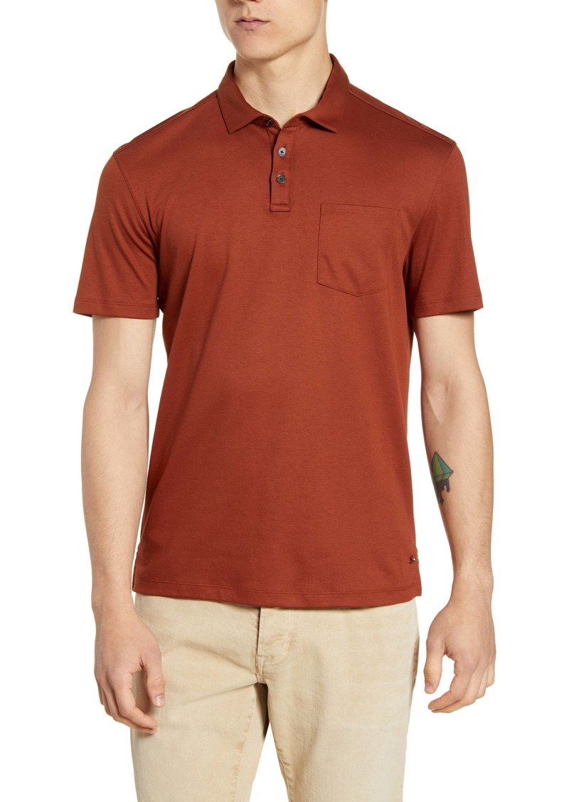 John Varvatos Star USA Burlington Classic Fit Cotton Polo Shirt