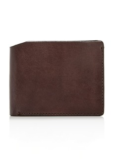 John Varvatos Star USA Bushwick Leather Bi-Fold Wallet