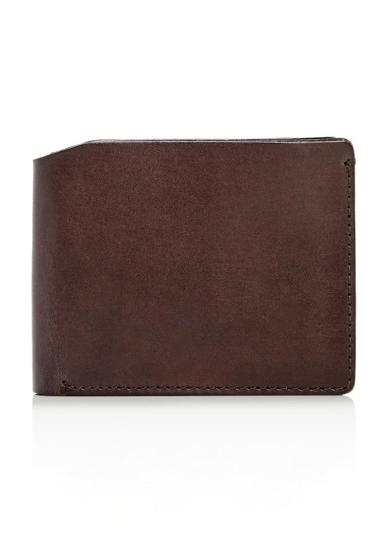 John Varvatos Star USA Bushwick Leather Bi-Fold Wallet