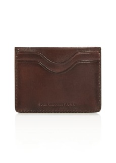 John Varvatos Star USA Bushwick Leather Card Case