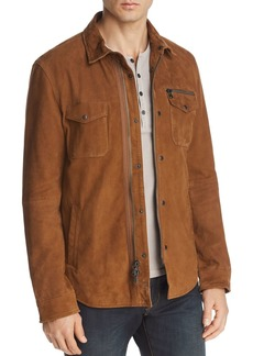 John Varvatos Star USA Camel Shilo Suede Jacket - 100% Exclusive