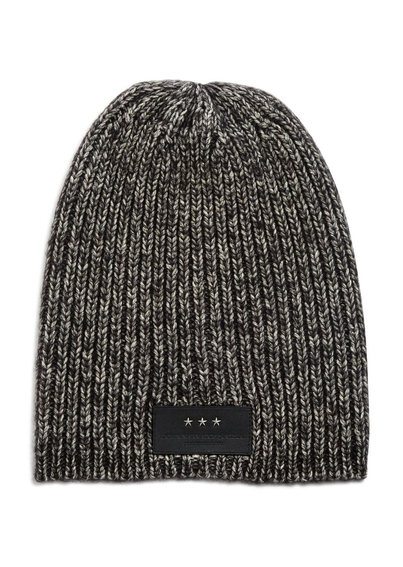 John Varvatos Star USA Cappucino Oversized Hat