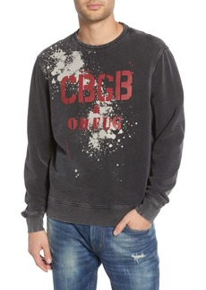 John Varvatos Star USA CBGB Regular Fit Sweatshirt