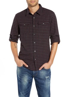 John Varvatos Star USA Check Flannel Shirt